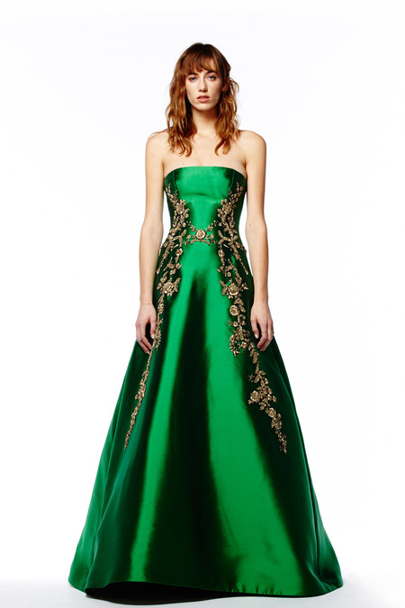 Evening Dresses in Reem Acra Pre-Fall 2014 (17)