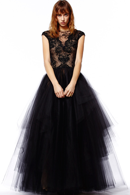 Evening Dresses in Reem Acra Pre-Fall 2014 (7)