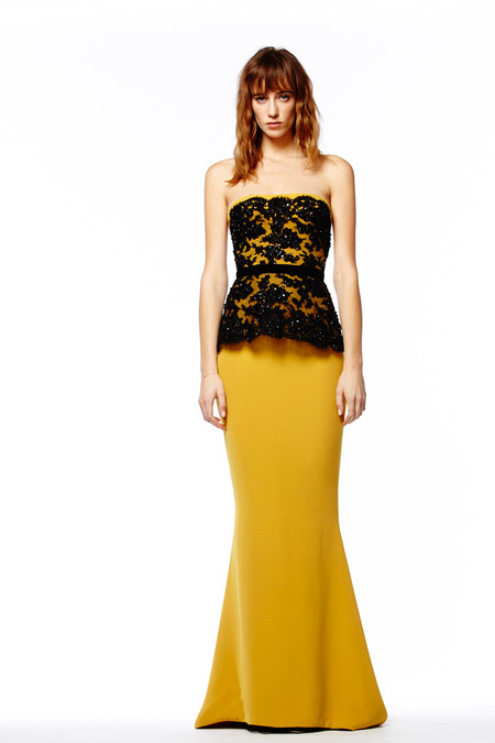 Evening Dresses in Reem Acra Pre-Fall 2014 (9)