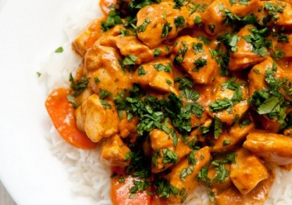 Indian chicken with dates