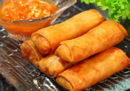 Spring Roll with Cheese