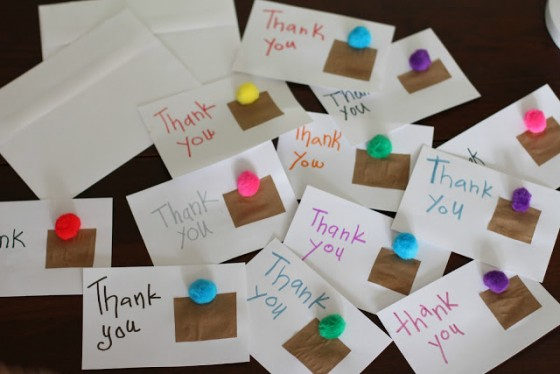 Thank-you-cards-made-by-kids