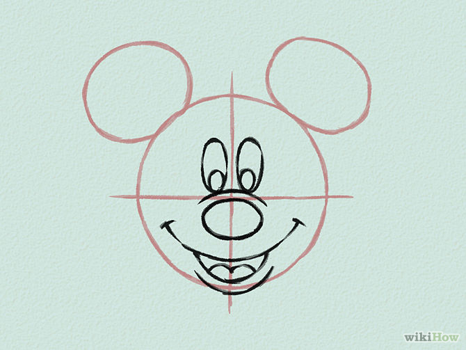 Draw-Mickey-Mouse-Step-14