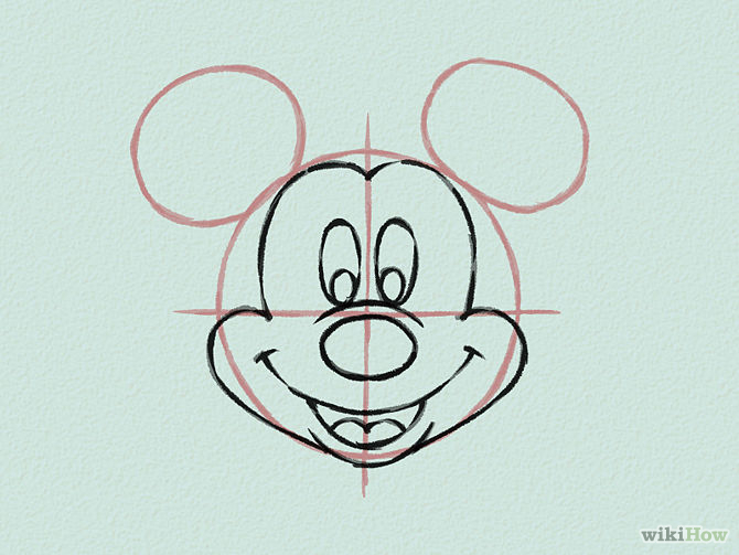 Draw-Mickey-Mouse-Step-15