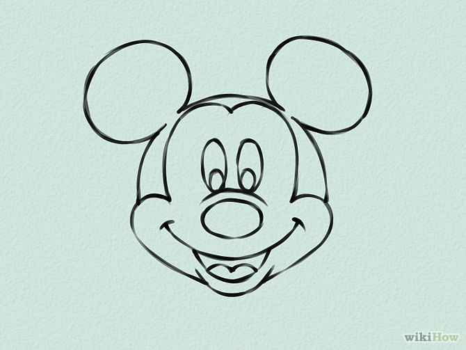Draw-Mickey-Mouse-Step-16