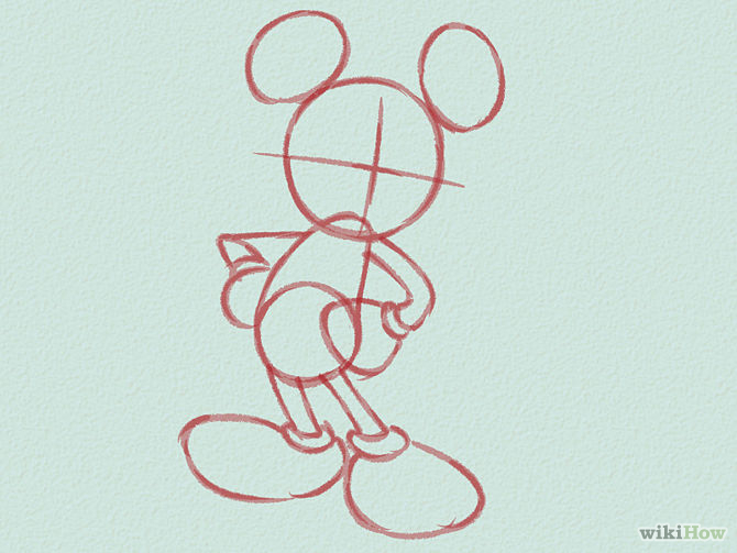 Draw-Mickey-Mouse-Step-3-Version-2
