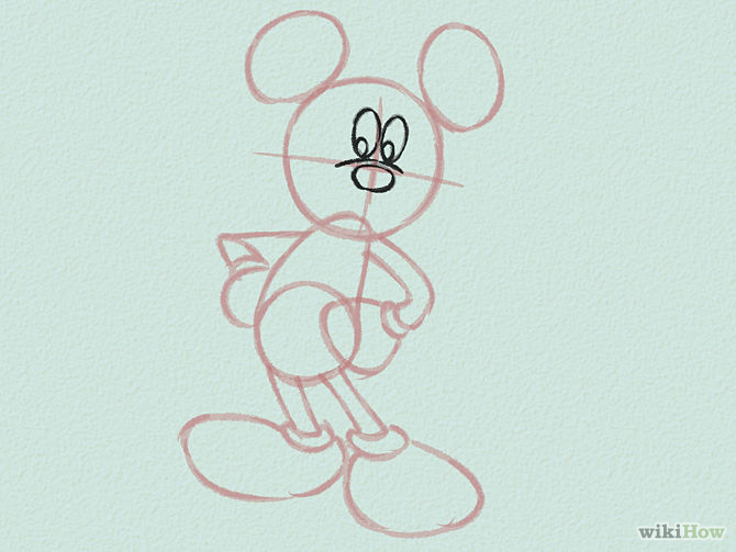 Draw-Mickey-Mouse-Step-4-Version-2
