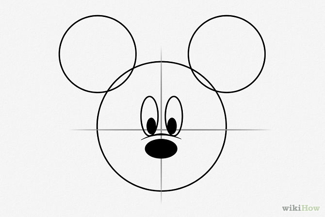 Draw-Mickey-Mouse-Step-4