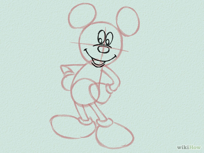 Draw-Mickey-Mouse-Step-5-Version-2