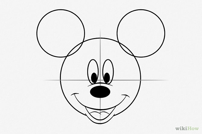 Draw-Mickey-Mouse-Step-5
