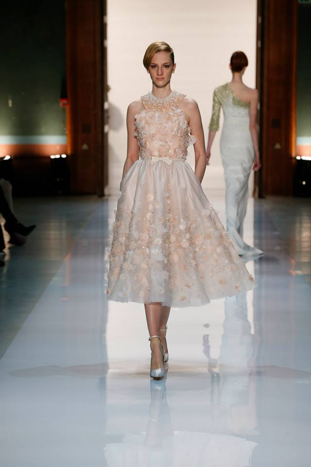 Silence is Golden - GEORGES HOBEIKA Couture SS 2014 (1)