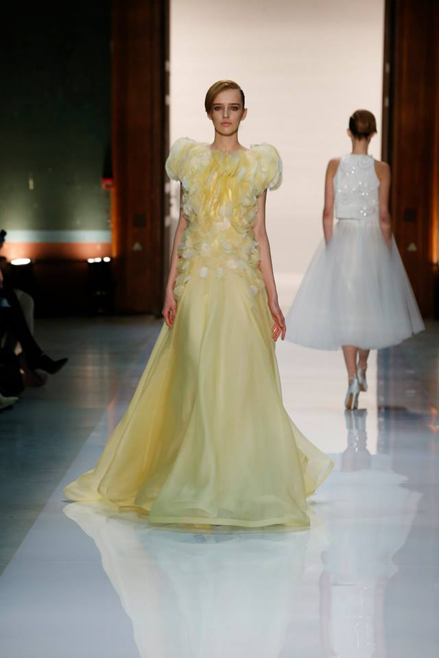 Silence is Golden - GEORGES HOBEIKA Couture SS 2014 (15)