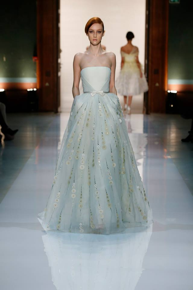 Silence is Golden - GEORGES HOBEIKA Couture SS 2014 (18)