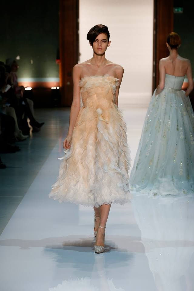 Silence is Golden - GEORGES HOBEIKA Couture SS 2014 (2)