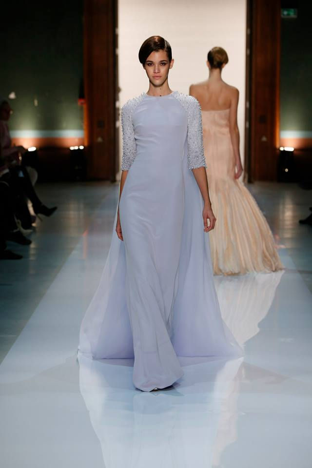 Silence is Golden - GEORGES HOBEIKA Couture SS 2014 (25)