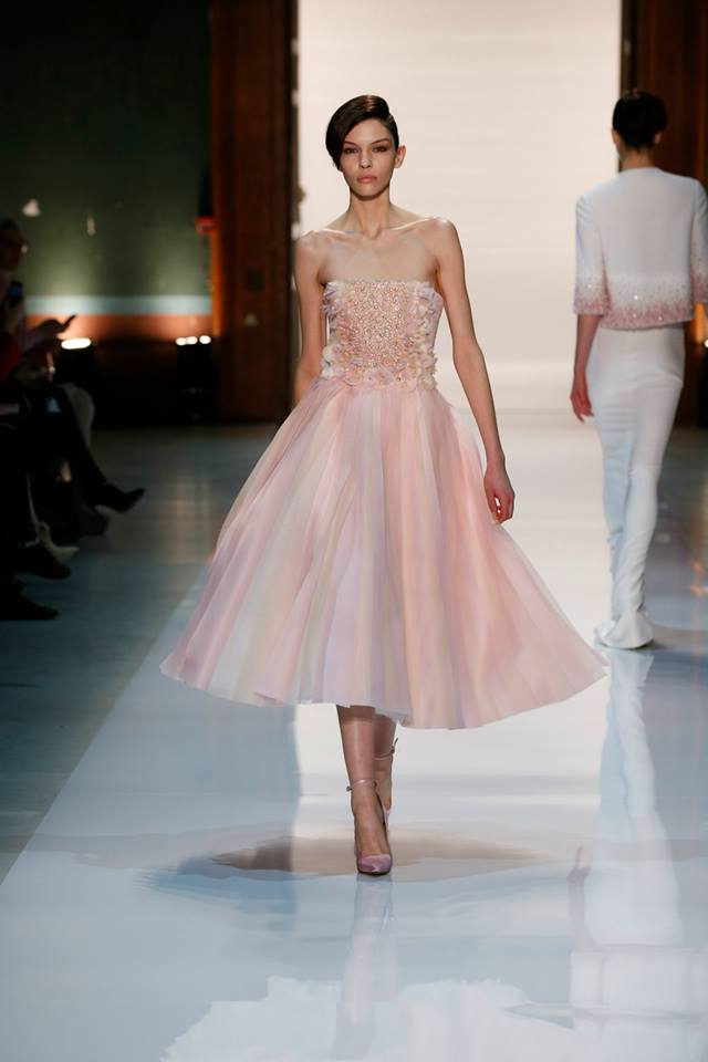Silence is Golden - GEORGES HOBEIKA Couture SS 2014 (6)