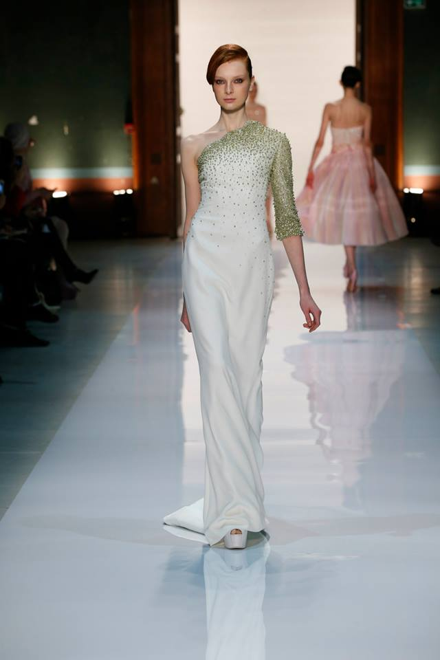 Silence is Golden - GEORGES HOBEIKA Couture SS 2014 (8)
