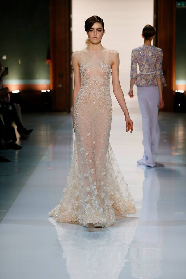 Silence is Golden - GEORGES HOBEIKA Couture SS 2014 (9)