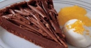 Chocolate and orange cake