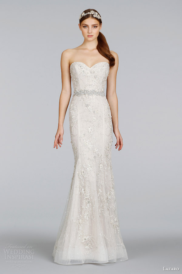 lazaro-spring-2014-bridal-champagne-beaded-embroidered-strapless-sheath-gown-style-3411