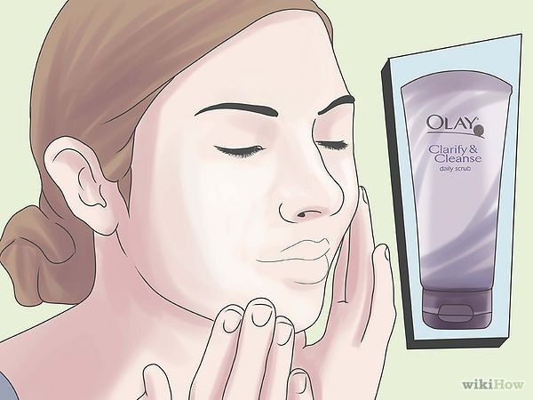 600px-Use-Olay-Products-to-Treat-Oily,-Sensitive-Skin-Step-1