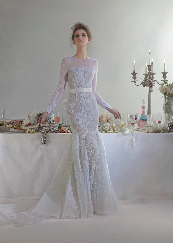 Basil Soda dresses for bride 2014 (12)