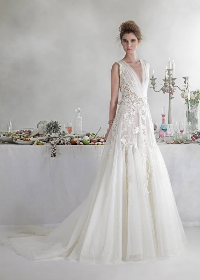 Basil Soda dresses for bride 2014 (13)