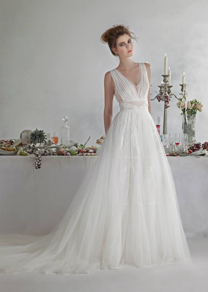 Basil Soda dresses for bride 2014 (4)