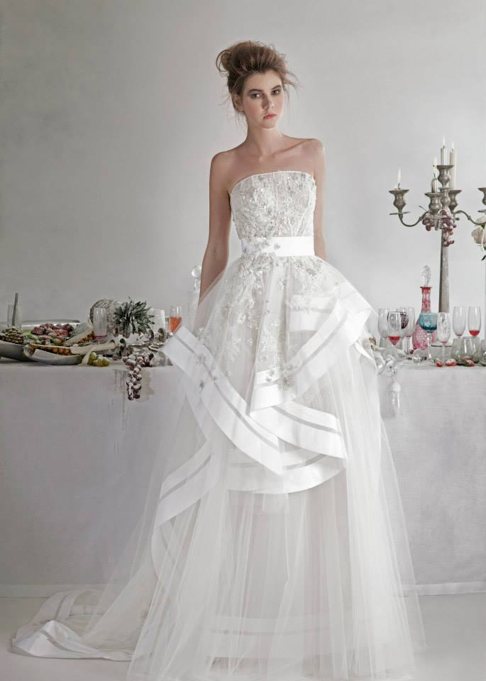 Basil Soda dresses for bride 2014 (7)