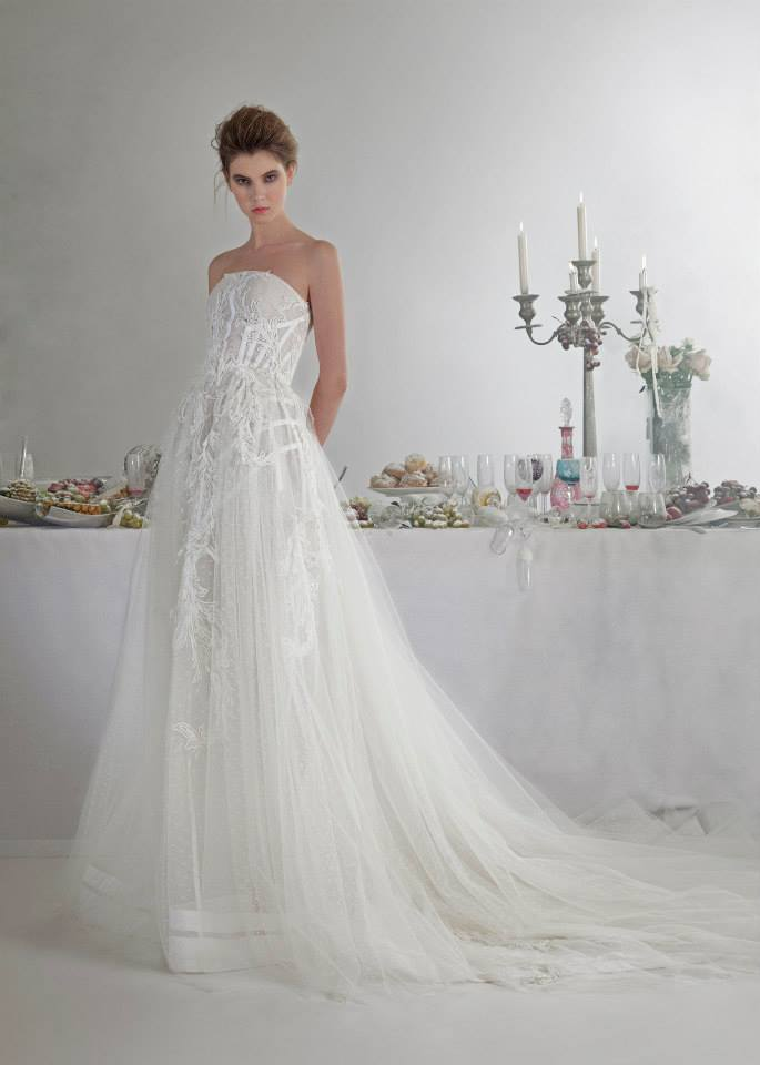 Basil Soda dresses for bride 2014 (8)