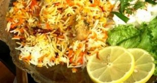 Chicken Biryani with yogurt