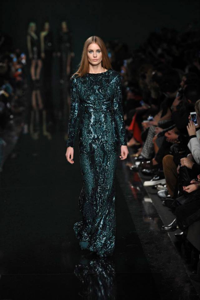 ELIE SAAB Ready-to-Wear Autumn Winter 2014-2015 Fashion Show (1)