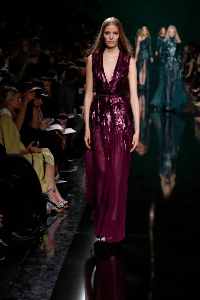 ELIE SAAB Ready-to-Wear Autumn Winter 2014-2015 Fashion Show (13)