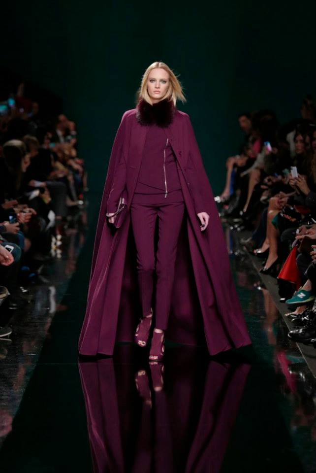 ELIE SAAB Ready-to-Wear Autumn Winter 2014-2015 Fashion Show (15)