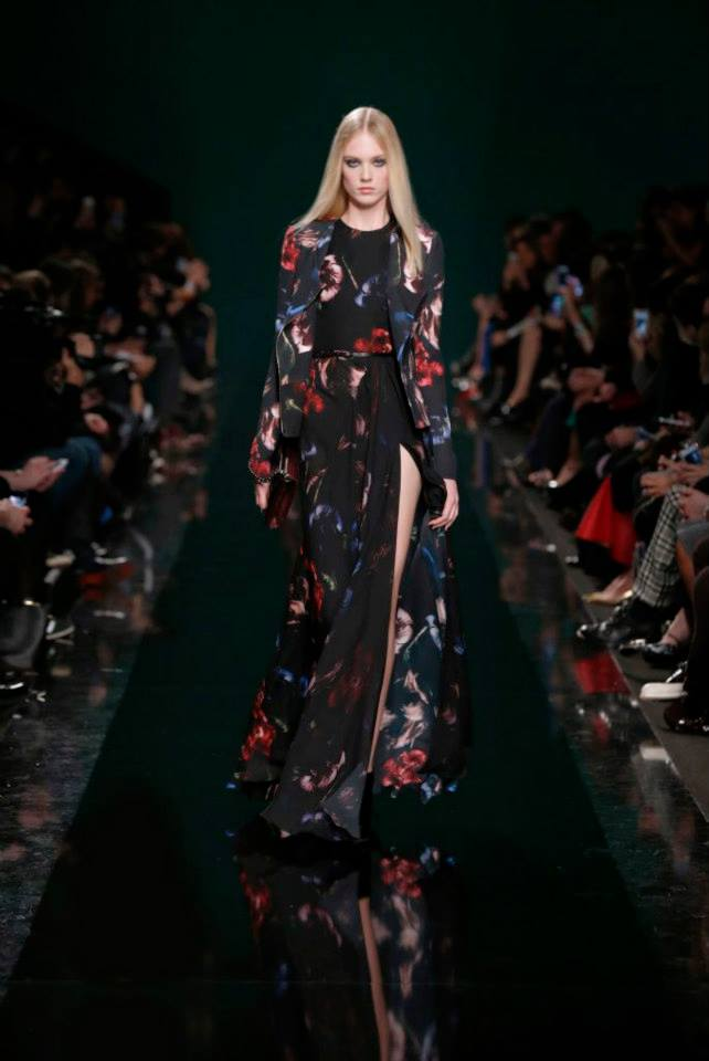 ELIE SAAB Ready-to-Wear Autumn Winter 2014-2015 Fashion Show (2)