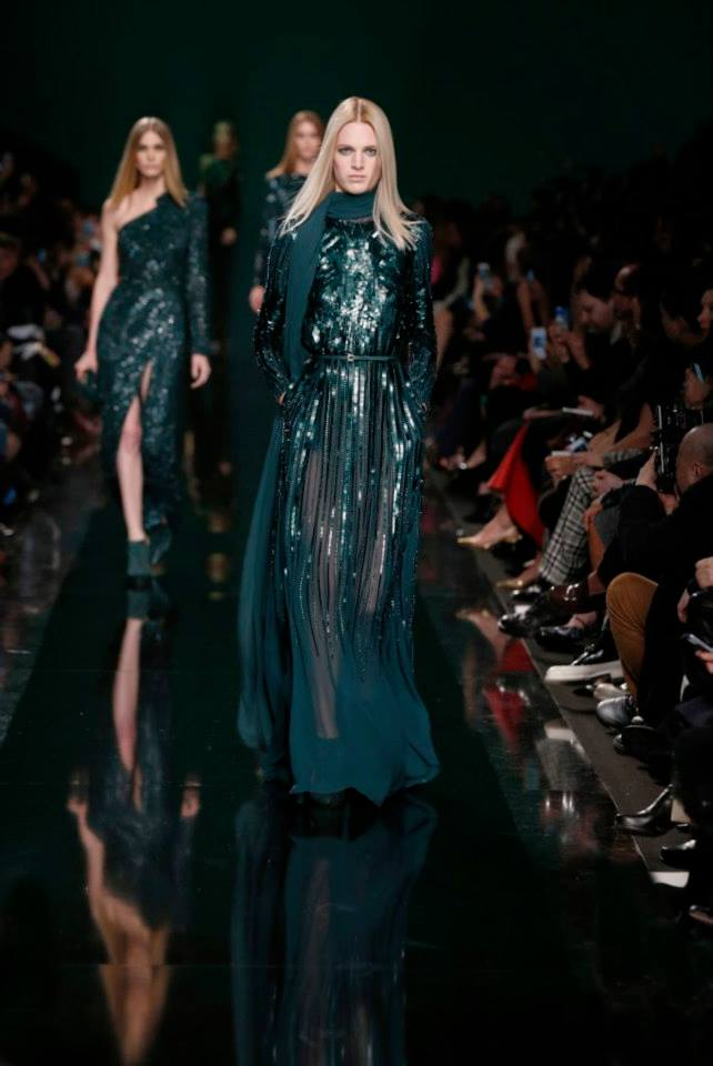 ELIE SAAB Ready-to-Wear Autumn Winter 2014-2015 Fashion Show (20)