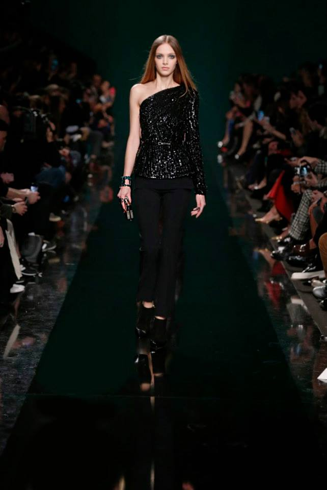 ELIE SAAB Ready-to-Wear Autumn Winter 2014-2015 Fashion Show (4)