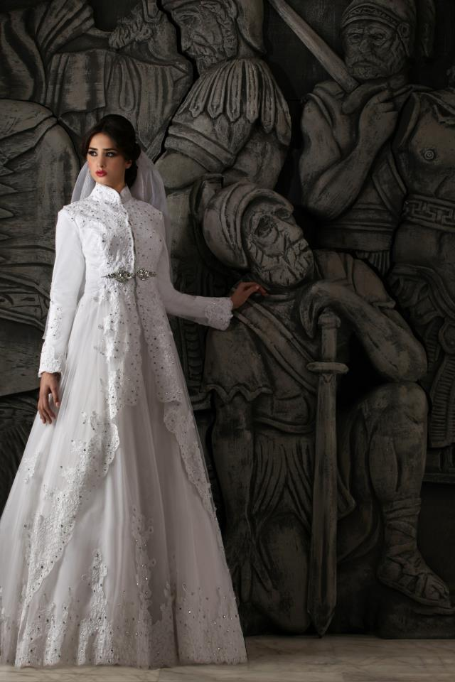 Hassan Mazeh bridal dress (1)