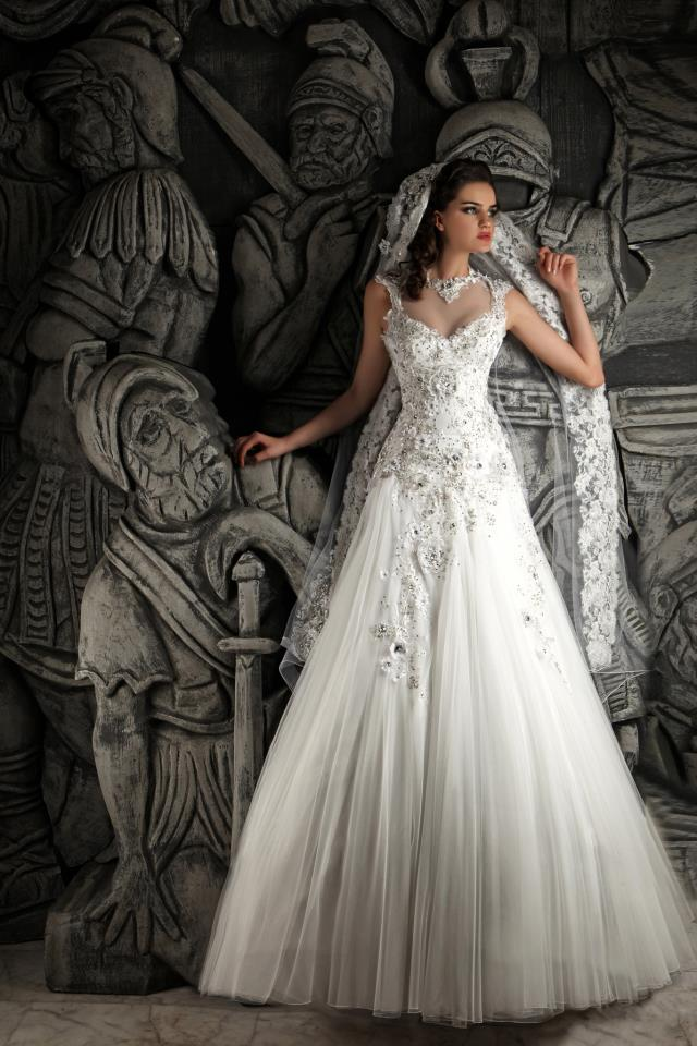 Hassan Mazeh bridal dress (11)