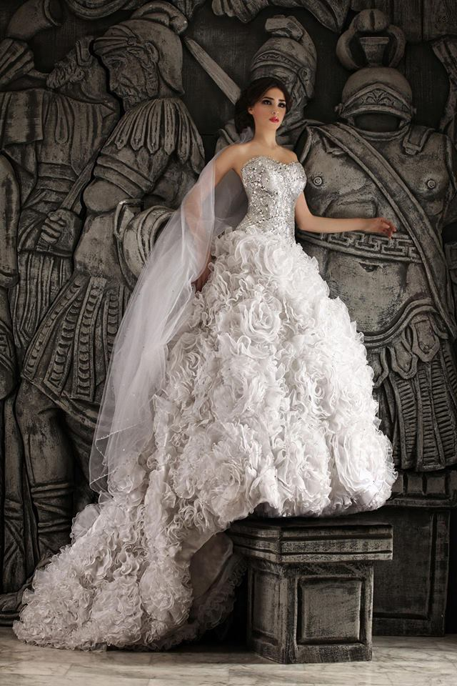 Hassan Mazeh bridal dress (14)