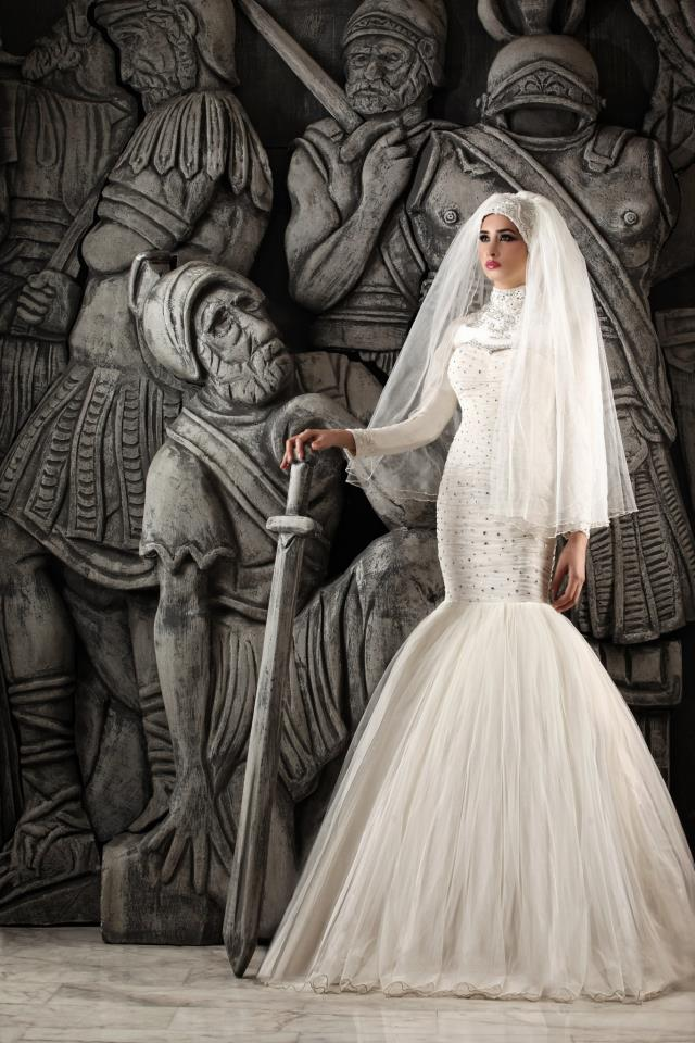 Hassan Mazeh bridal dress (3)