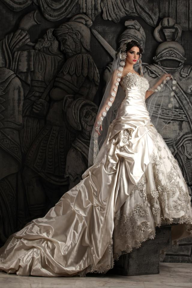 Hassan Mazeh bridal dress (6)