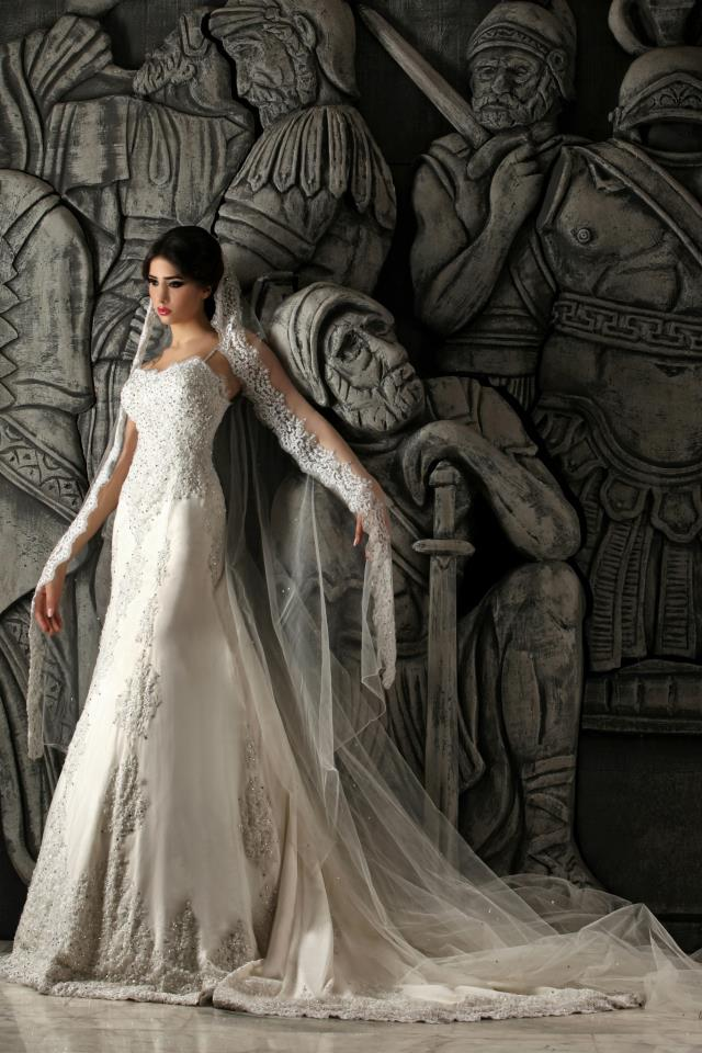 Hassan Mazeh bridal dress (7)