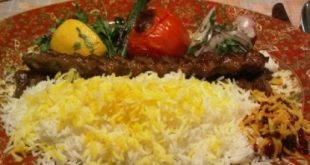 Kopedh kebab on the way in Iran