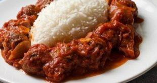 Daoud Pasha with rice