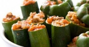 Kusa stuffed with vegetables and meat