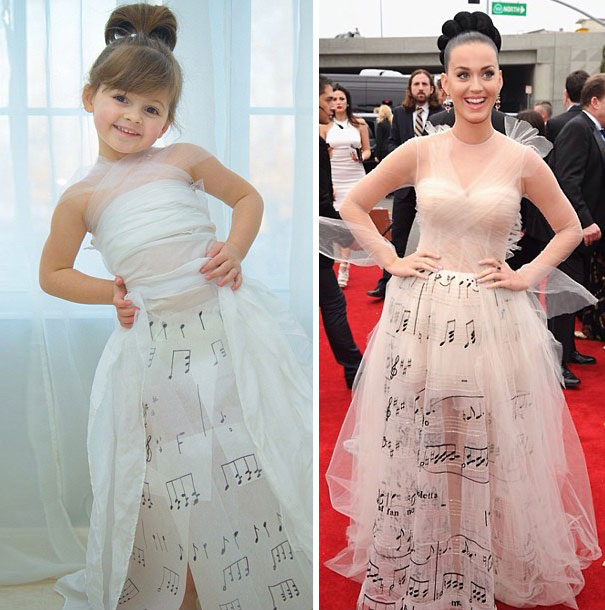 4-year-old-girl-paper-dresses-2sisters-angie-mayhem-44