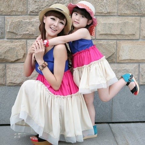 Fashion-Summer-Clothes-for-Mother-and-Daughter (10)