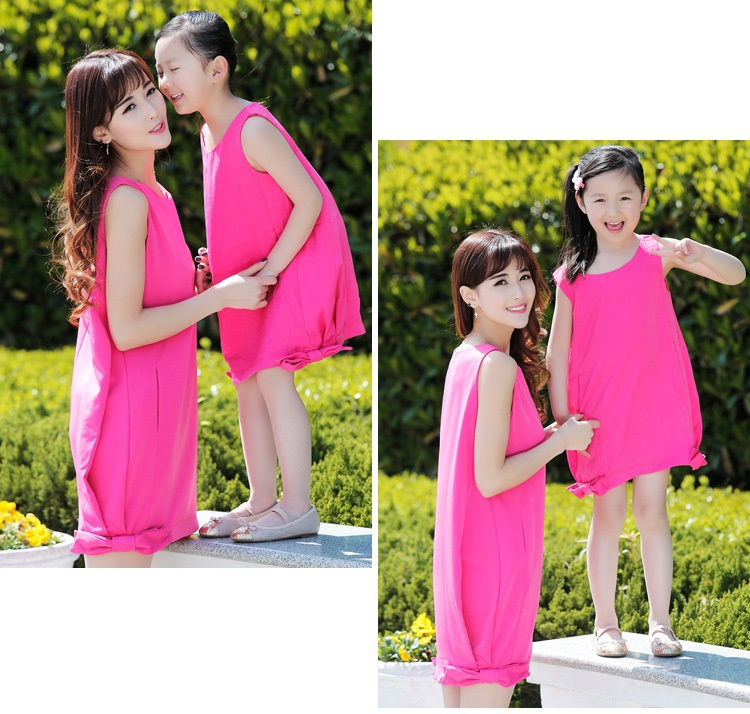 Fashion-Summer-Clothes-for-Mother-and-Daughter (7)