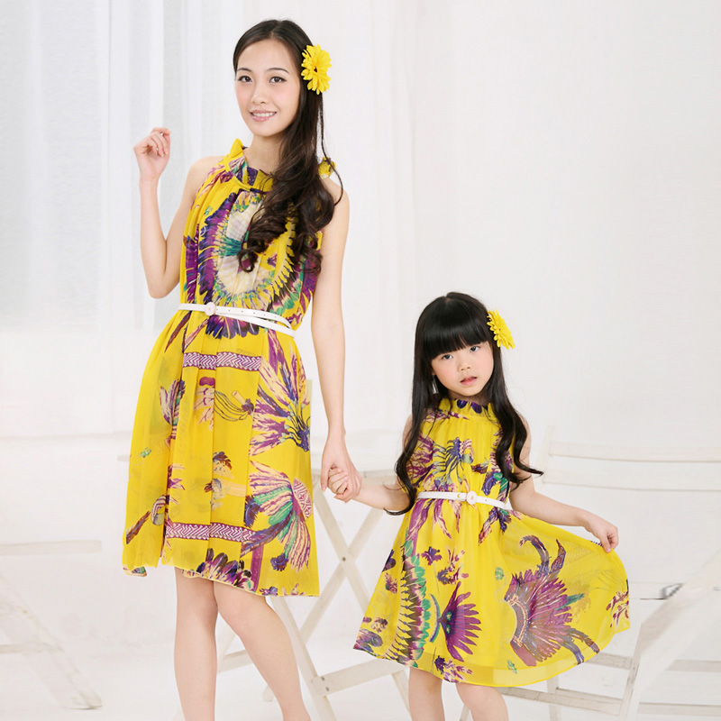 Fashion-Summer-Clothes-for-Mother-and-Daughter (9)